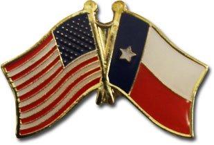 Flagline Texas - State Friendship Lapel Pin ()