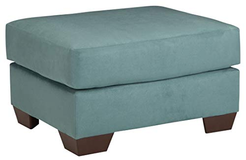 Ashley Furniture Signature Design - Darcy Ottoman - Ultra Soft Upholstery - Contemporary - ()