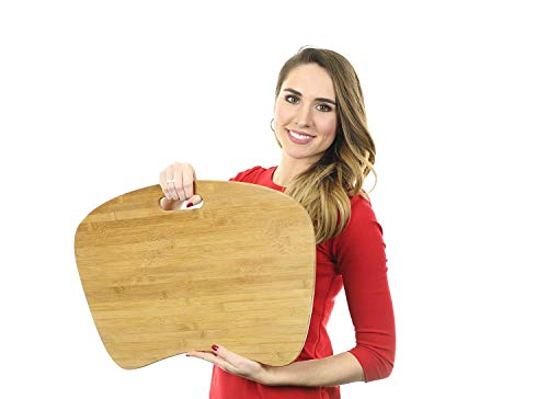 Bamboo Laptop Lap Desk of Extra Large SizeNatural Bamboo Lapdesk Surface with