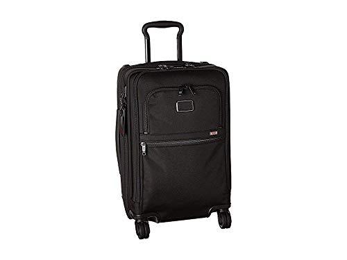 - Tumi Unisex Alpha 3 International Office 4 Wheeled Carry-On Black One Size