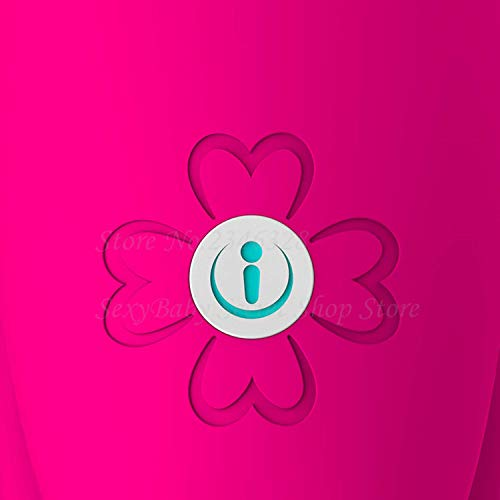 VKSJD Tshirt Personal Vibration Intelligent Bluetooth App Vibrat-ors Wireless Remote Control Super Strong Clitoral G-Spot Vibrador S-ex to-ys for Woman,Retail Box Packing by VKSJD Tshirt (Image #4)