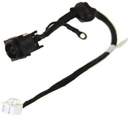 AC DC Power Jack Harness Cable for Sony VAIO VGN-FW455D VGN-FW455D//H VGN-FW490C