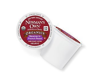 Newman's Own French Roast Coffee Keurig K-Cups - 72 Count