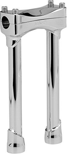 BILTWELL Motorcycles Investment-cast Steel Risers Murdock 10 inch - Cast Riser