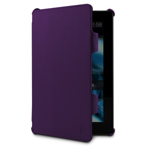 (MarBlue Slim Hybrid Standing Case for the Kindle Fire HD, Purple (will only fit 3rd generation))