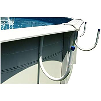 Sun2Solar Solar Pocket Cover Holder Keep Solar Blankets Off The Ground | Easy Storage and Retrieval | 5-Piece Aluminum U-Shaped Tube Set | Designed for Steel-Wall Above-Ground Swimming Pools