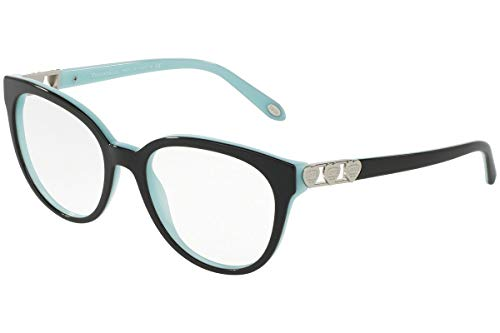 bc91f0198a54 TIFFANY   CO. TF2145-8055 Eyeglasses Black Blue Frame 54mm