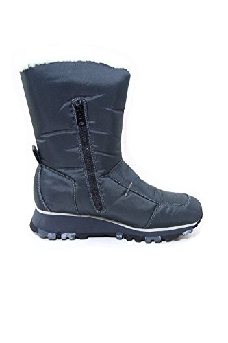 Diesel Nylon/Synthetic Fleece Women Winter Boots Mila Silium EU39