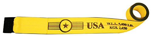 10 Pack of 4'' x 27' Winch Strap with Flat Hook - w/ Webbing Made in USA   TieDownsPlus