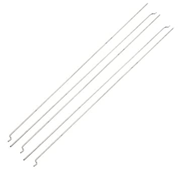Amazon.com : eDealMax 5 x Acero inoxidable 326mmx1.5mm ...