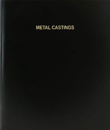 BookFactory Metal Castings Log Book / Journal / Logbook - 120 Page, 8.5