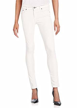 "Rag & Bone Women's ""Skinny"" Corduroy Jeans, Winter White (24)"