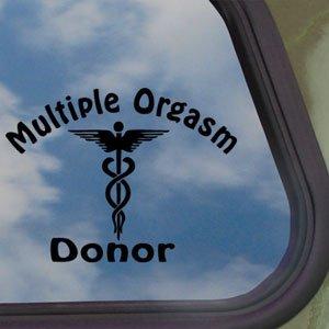 Multiple orgasm donor
