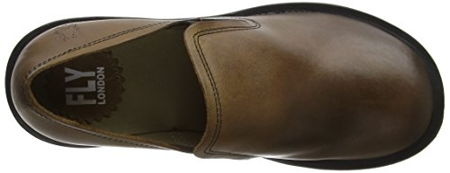 Fly London Coby087fly, Scarpe Col Tacco Punta Chiusa Donna Marrone (Camel)