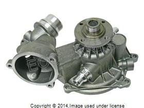 (Water Pump with Gasket and Heater Return Pipe O-Ring)