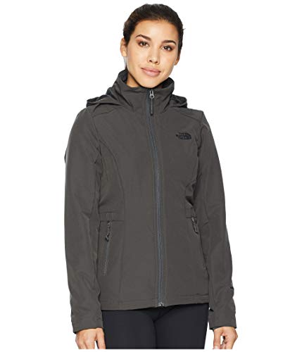 (The North Face Women's Shelbe Raschel Hoodie Asphalt Grey X-Small)