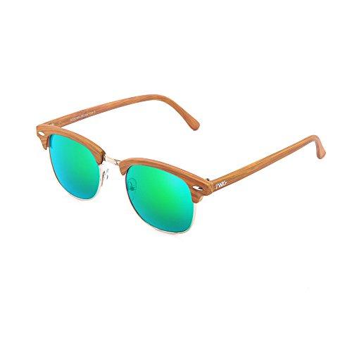 DEGAS TWIG Verde madera Gafas sol Chestnut mujer estilo de hombre pqtf4Uw