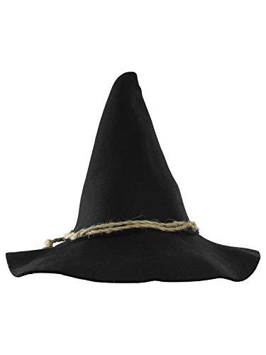 Deluxe Felt Scarecrow Hat, Black, One Size ()