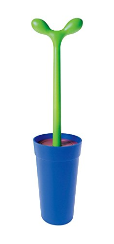 Alessi Merdolino Toilet Brush - Blue