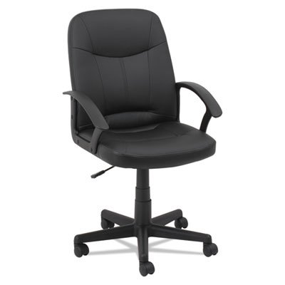 EXECUTIVE OFFICE CHAIR, SUPPORTS UP TO 250 LBS., BLACK SEAT/BLACK BACK, BLACK BASE