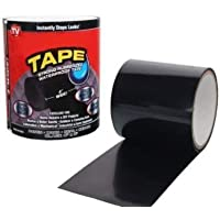 EMPORIUM Waterproof Seal Repair Tape to Stop Leakage of Kitchen Sink/Toilet Tub (Black)