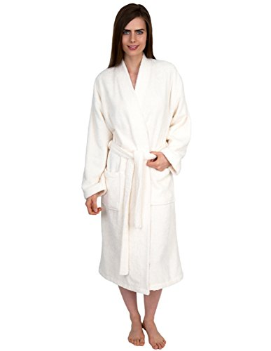 TowelSelections Womens Organic Cotton Bathrobe