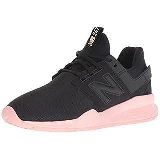 New Balance Women's 247v2 Sneaker, Black/Himalayan Pink, 8.5 B US