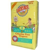 Chlorine Free Earth Friendly Disposable Diapers Size: Size 1