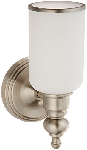 Elk Lighting 11580/1 Bristol Collection 1 Bath Light, Brushed - Bathroom Collection Vanity Bristol