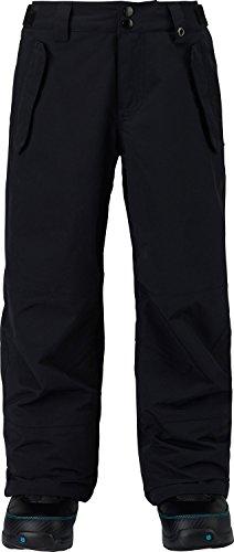 Burton Fiber Snowboard (Burton Boys Parkway Pants, True Black, X-Large)