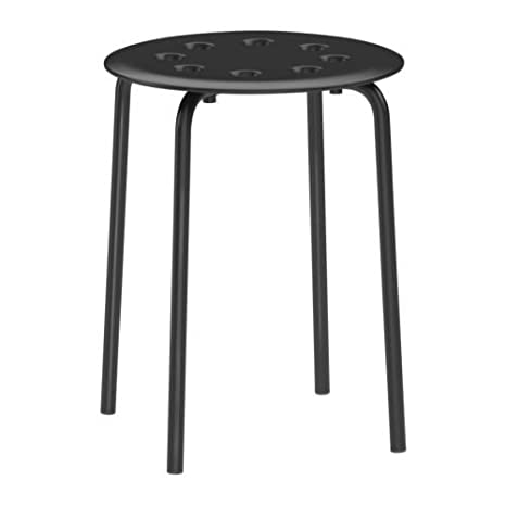 Ikea Marius - Sgabello, Nero: Amazon.it: Casa e cucina