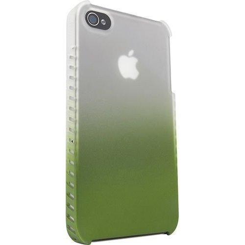 iFrogz 200038 Luxe Lean Phase Case for iPhone 4/4S - Retail Packaging - Frost/Lime