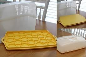 Amazon Com Tupperware Cake Cupcake Carrier