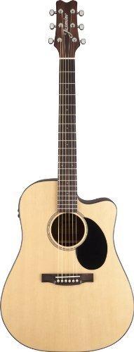 Jasmine JD36CE-NAT J-Series Acoustic-Electric Guitar, Natural KMC Music Inc