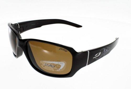 (Julbo Alagna Choco/Blanc Polar Sunglasses)