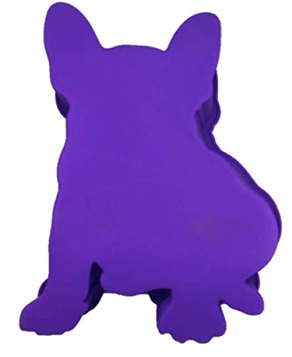 Amazon French Bulldog Boston Terrier Dog Birthday Cake Pan Silicone Purple Large Kitchen Dining