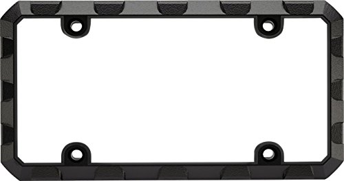 - Custom Frames 92572 Black Heavy Duty Metal License Plate Frame (Truck Tuff)