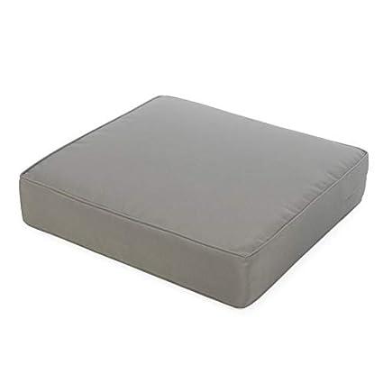 Amazon.com : Modern Gray Grey Outdoor Deep Seating Seat ...