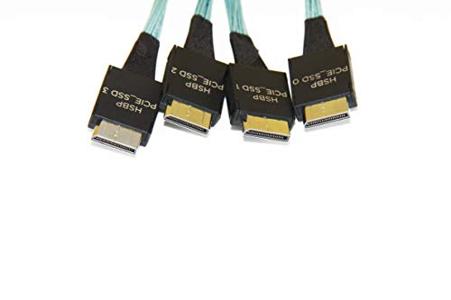 DiLinKer OCulink 4i(SFF-8611) 4X to OCuLink 4i(SFF-8611) 4X Cable(75CM) by Dilinker (Image #2)