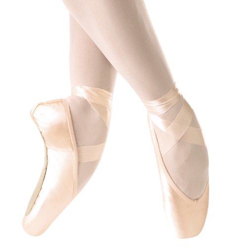 Chaussures De Pointe Ulanova Adulte, Ulai, Tige Moyenne