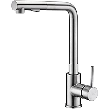 Mixer Taps For Kitchen Sink Pull out kitchen faucet brushed nickel crea kitchen sink faucets pull out kitchen faucet brushed nickel crea kitchen sink faucets set mixer tap with sprayer workwithnaturefo