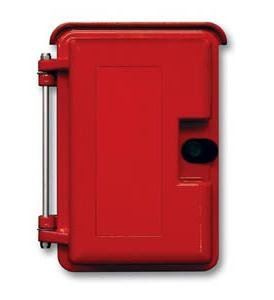 (Viking Electronics Heavy Duty Outdoor Enclosure Red)