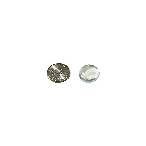 Clear Marbles Pebbles For Vases 5 Lb 500 600 Stones Flat Bottom