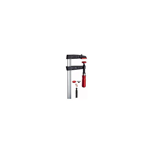 Bessey TG25B8 Screw Clamp Tg 250 3.15In of Cast-IRON, Black/Red/Silver by Bessey