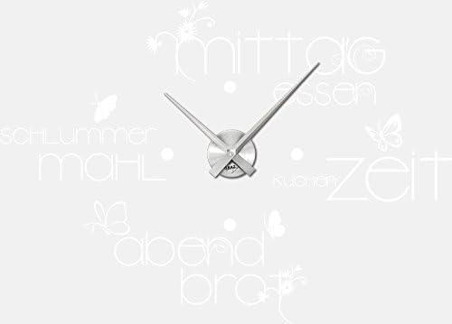 Graz Design 800006al010 Wandtattoo Uhr Wanduhr Küche Und