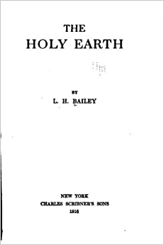Book The Holy Earth