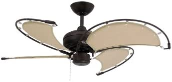 TroposAir Voyage Oil Rubbed Bronze Indoor/Outdoor Ceiling Fan