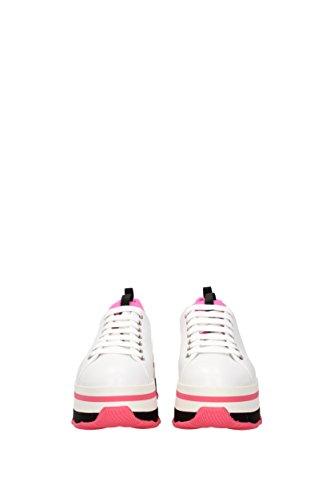 Pelle Sneakers Donna EU 3E6264 Prada Bianco zEgqR