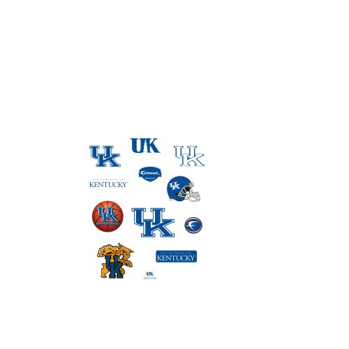 Kentucky Wildcats Team Logo Assortment Fathead Jr. Wall Decal by FATHEAD