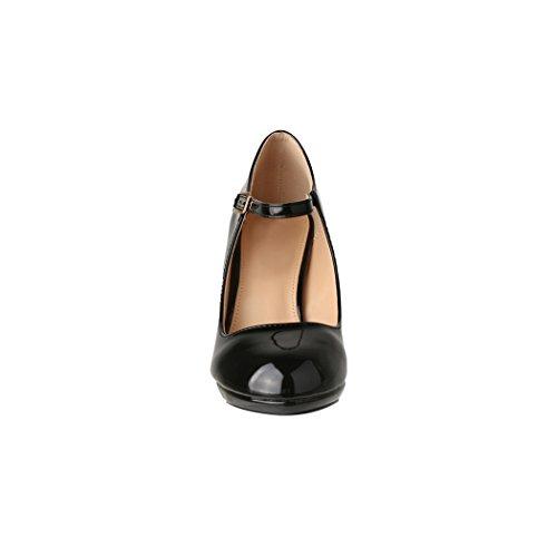 Cinturino Con Caviglia Alla Nero Donna Elara 7pqF8